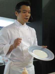 浅野陽子 WINE & COOKING 日々 ノート-テーブルショウシェフ最初
