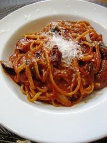 料理とワインと整理整頓日記-トマトとココアソース
