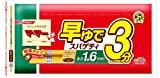 マ・マー 早ゆでスパゲティ チャック付 結束 1.6mm 500g×4個
