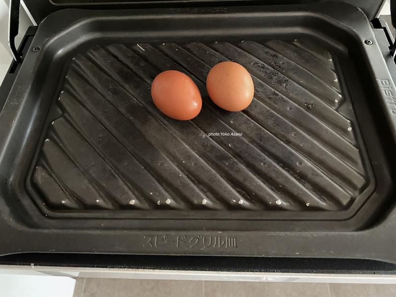 パナソニックビストロ ゆで卵