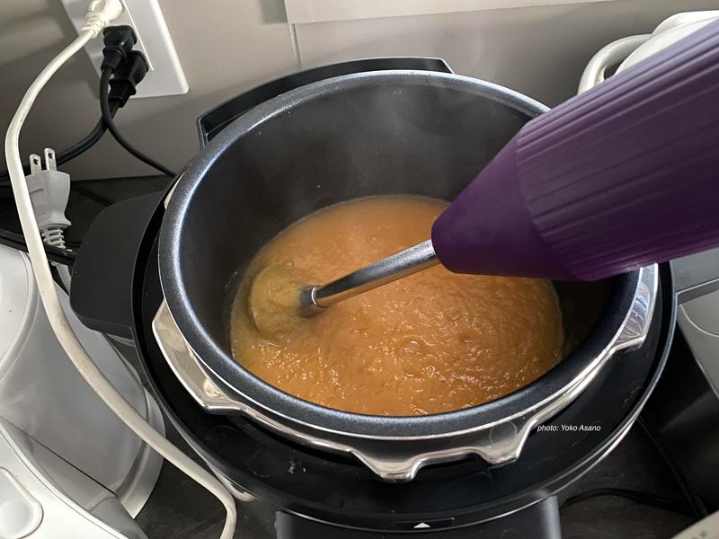 パナソニック 電気圧力鍋 ポタージュ 野菜スープ