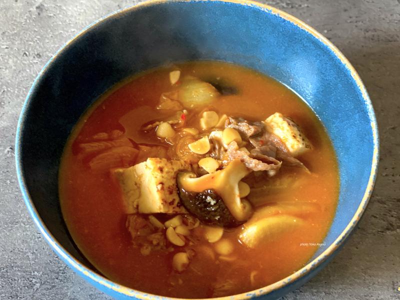 ホットクック キムチ納豆チゲ