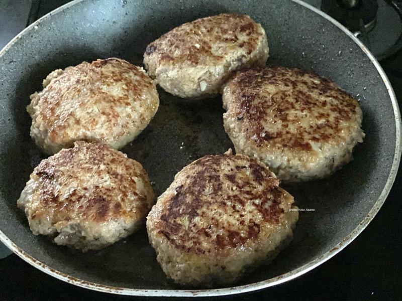 ホットクック 韓国風チーズハンバーグ