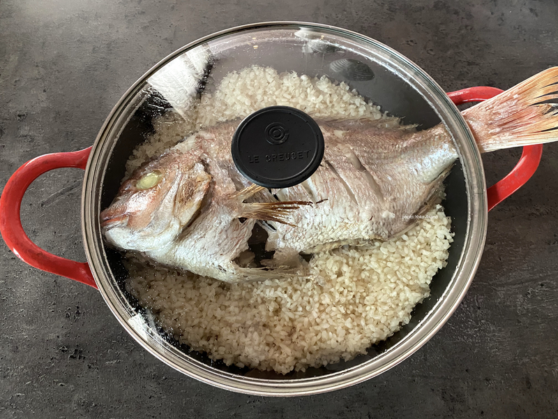 鯛めし(たいめし)の作り方