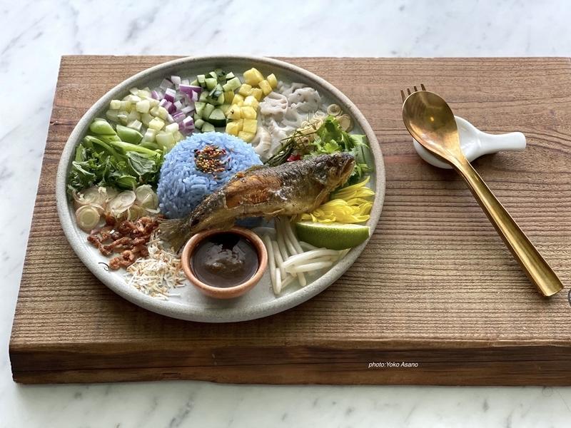 タイのライスサラダ、カオヤムの画像