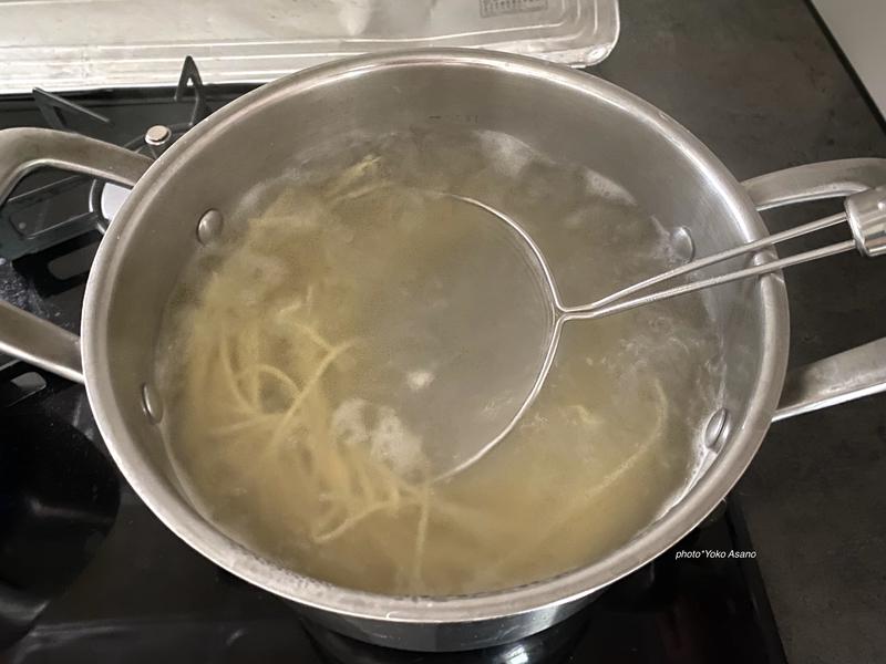 カルディの生パスタとソースを食べ比べた画像