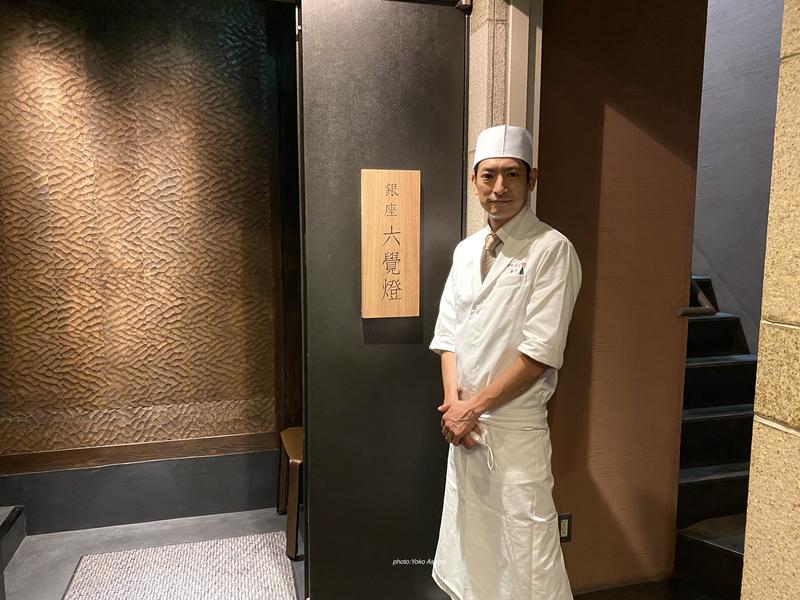 銀座 六覺燈 神楽坂店の入口の画像