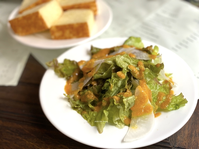 パスタランチのサラダの画像
