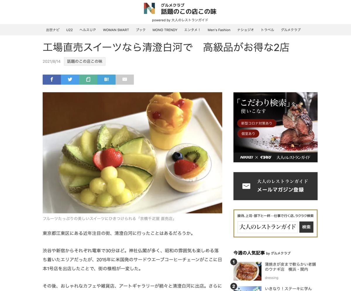 日経ウェブ版の記事のサムネイル画像
