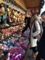 ベルベデーレ宮殿前のクリスマスマーケット