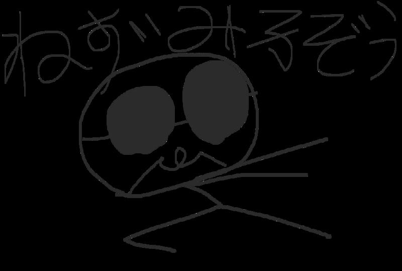 スカル^▽^ノ