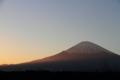 [富士山][夕焼け]