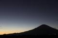 [夜景][富士山]
