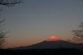 [富士山][朝焼け]
