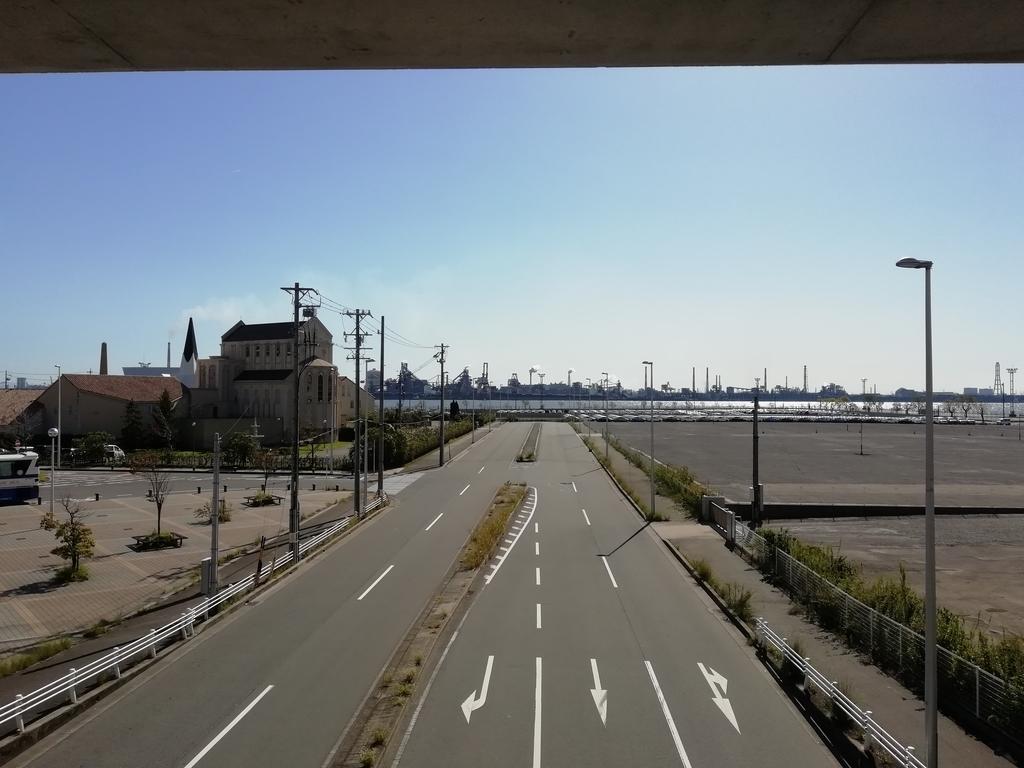 金城ふ頭駅からの風景