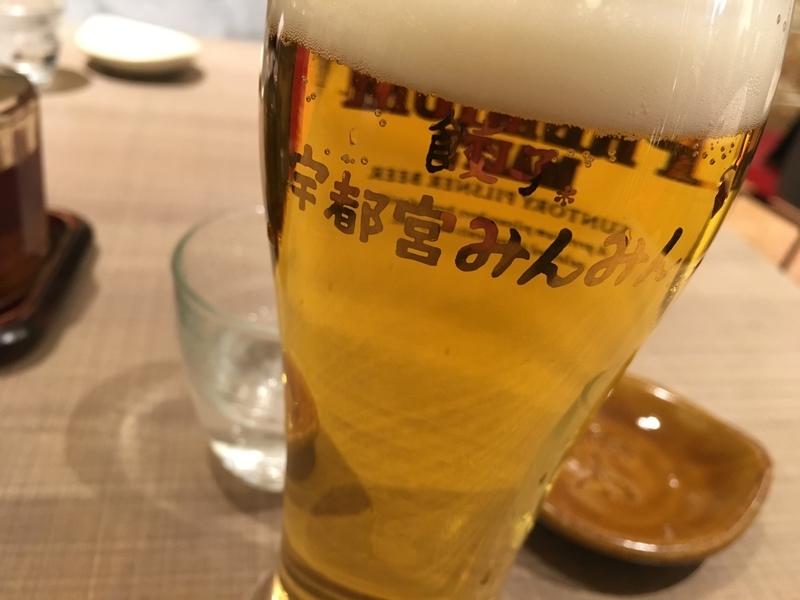 宇都宮みんみんのビール