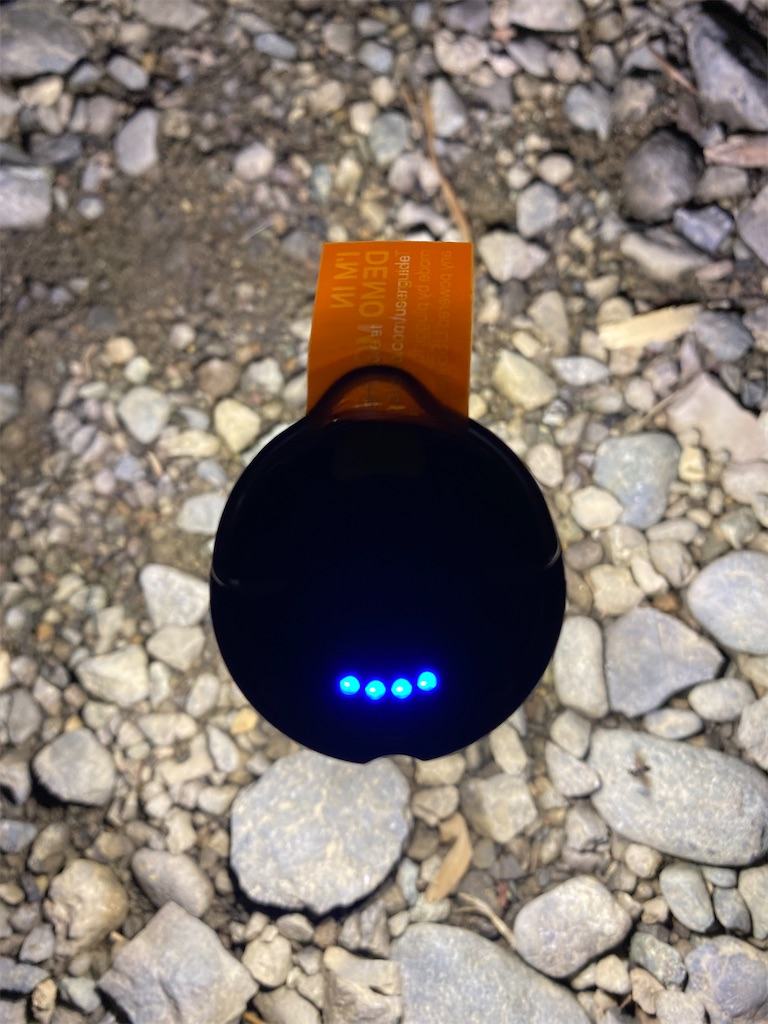 ゴールゼロ 電池残量