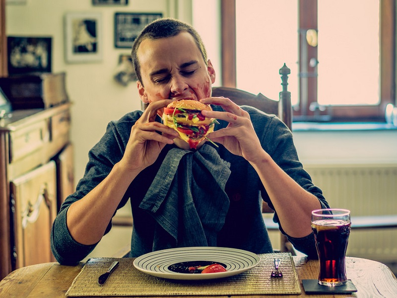 アフィリエイトでハンバーガーを食う