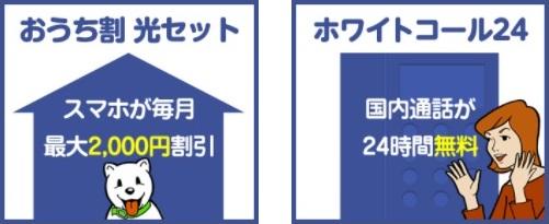 NURO光・おうち割・光セット