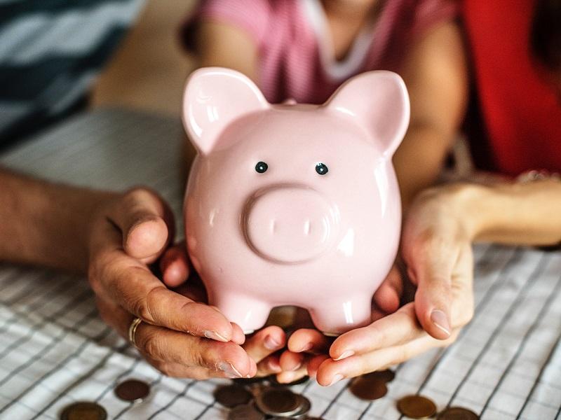小銭を銀行口座へ入金する