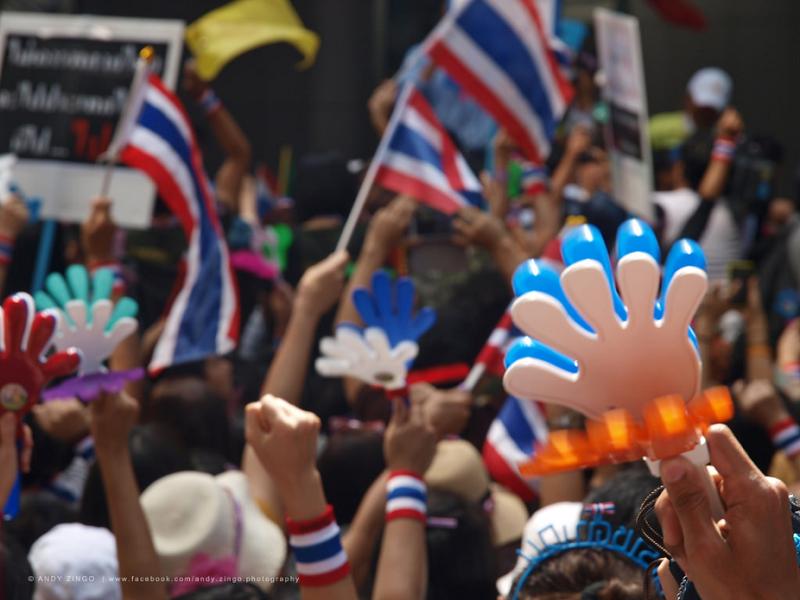 タイにおけるデモ