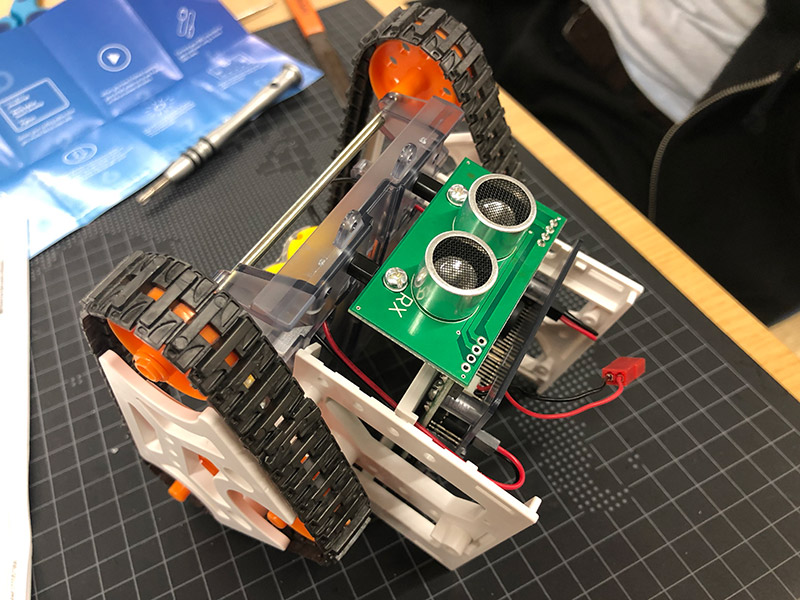 プログラミングロボット画像