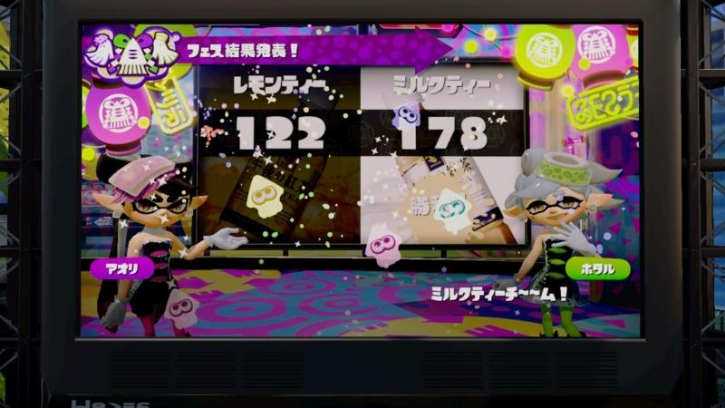 ミルクティーチィ〜〜ム!の勝利