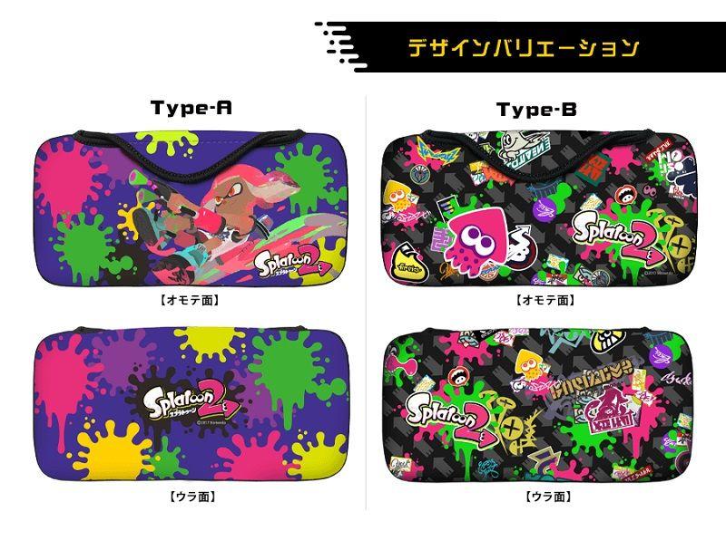 クイックポーチコレクション for Nintendo Switch(スプラトゥーン2)