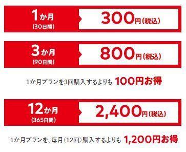 ニンテンドースイッチのオンラインサービスの料金表