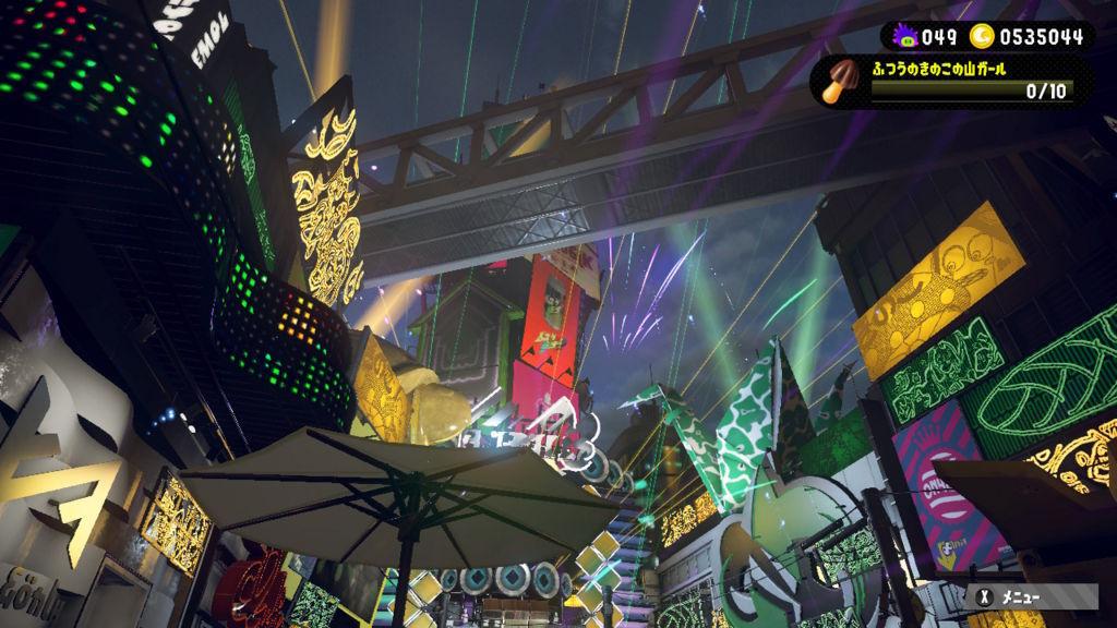 フェス開催中のハイカラスクエア