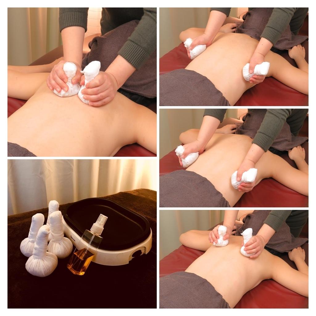 アーユルヴェーダのキリ温熱療法