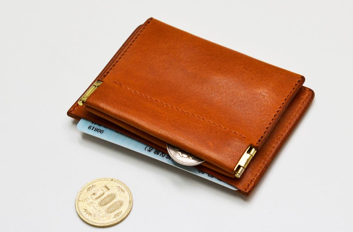walpac(ウォルパック)日本製・本革 コイン&カードケース KG-Y167