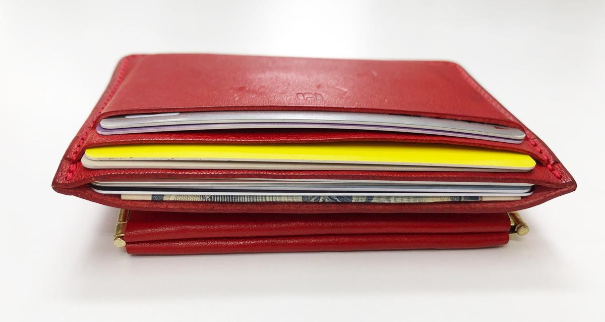 walpac(ウォルパック)コイン&カードケースの収納力は?