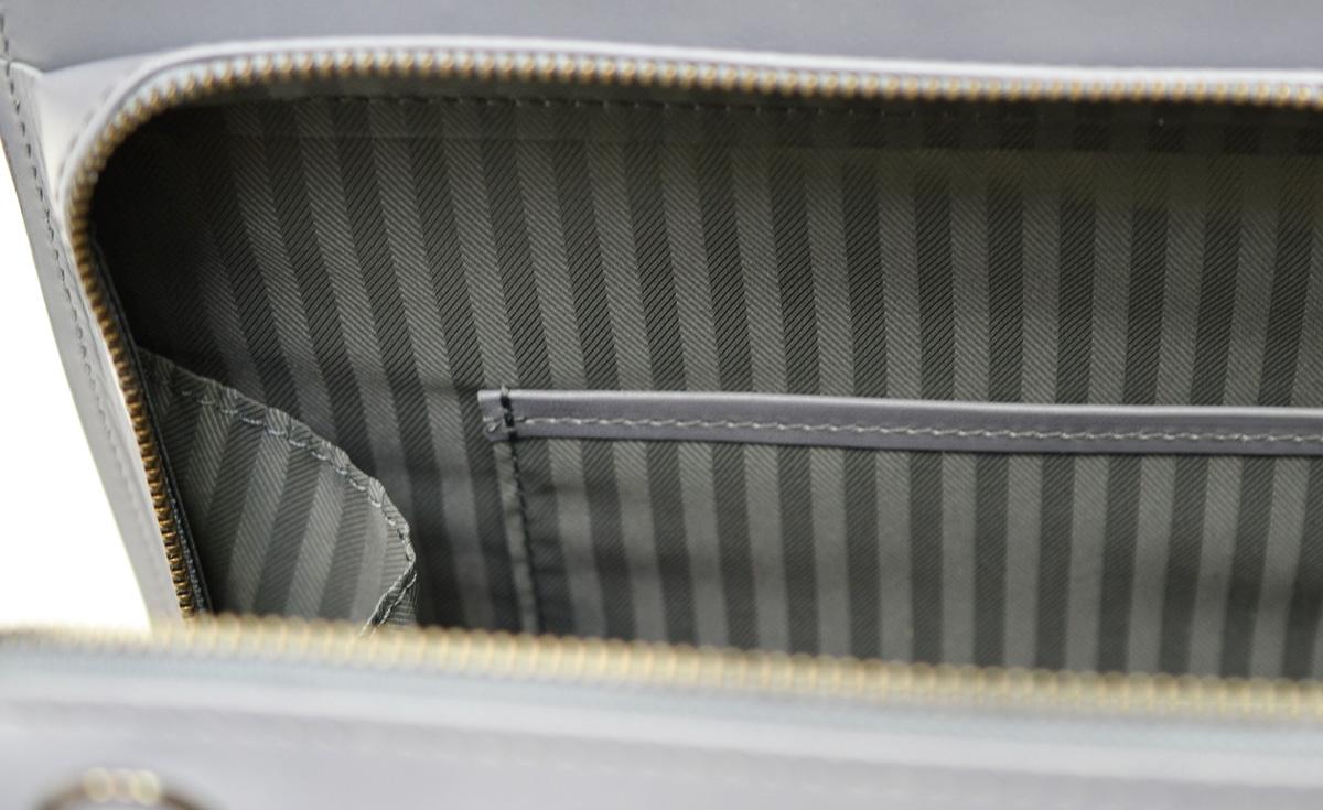 本革 ビジネスバッグ 日本製 Rintosh AV-W162 限定色グレー/asoboze(アソボーゼ)