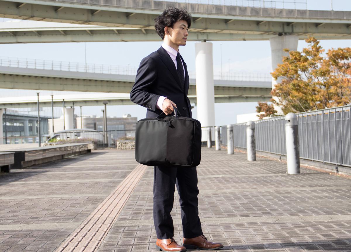 TOFTSACK(タフトサック)2way ビジネスリュック 日本製 B4 PC収納/asoboze(アソボーゼ)