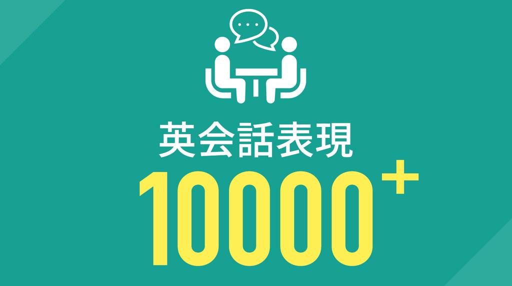英会話表現10000+