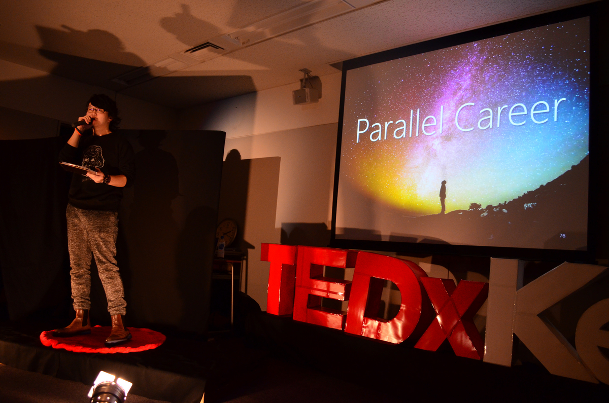 TEDプレゼンに挑戦