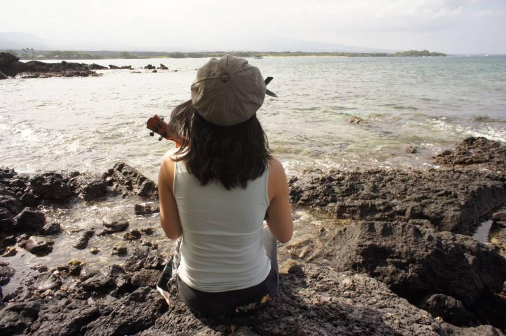 牧村朝子さん旅行写真