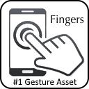 作者セール Fingers Touch Gestures For Unity 円や稲妻 チェックマーク 文字x など認識できるジェスチャ機能と モバイルの一般的な操作を搭載した大人気アセットが77 Off Unity Assetstoreまとめ
