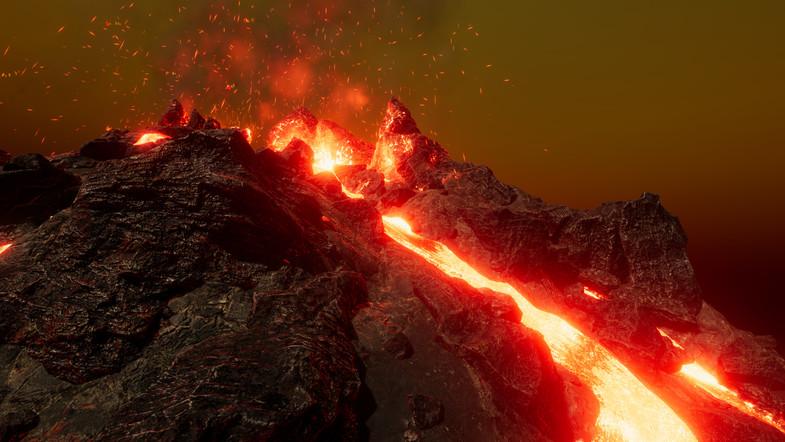 L.V.E - Lava & Volcano Environment