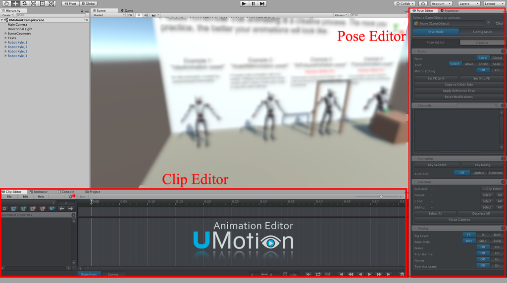 UMotion Pro - Animation Editor