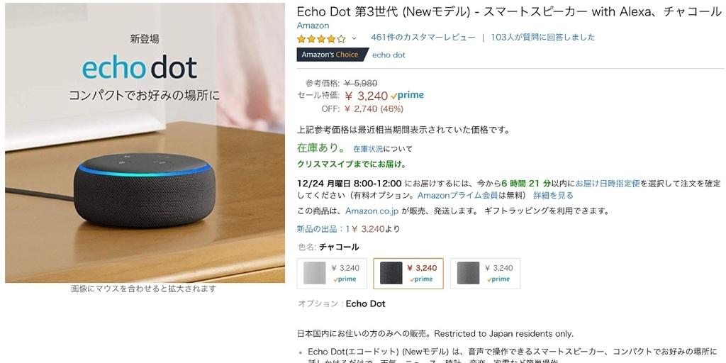 AmazonのNew Echo Do