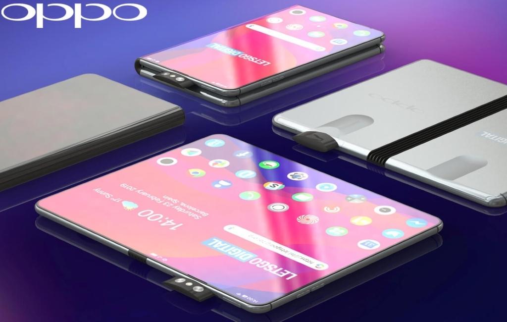 Oppoのフォルダブルフォン