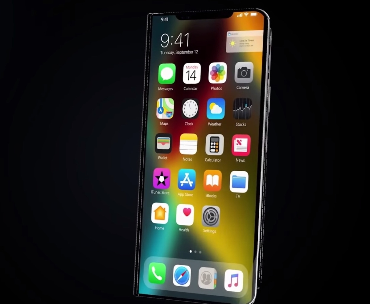 Foldable iPhone 11