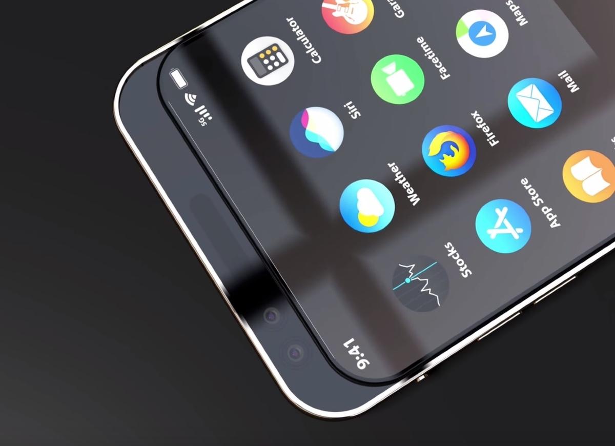 iPhone 11 Slideのコンセプトムービー