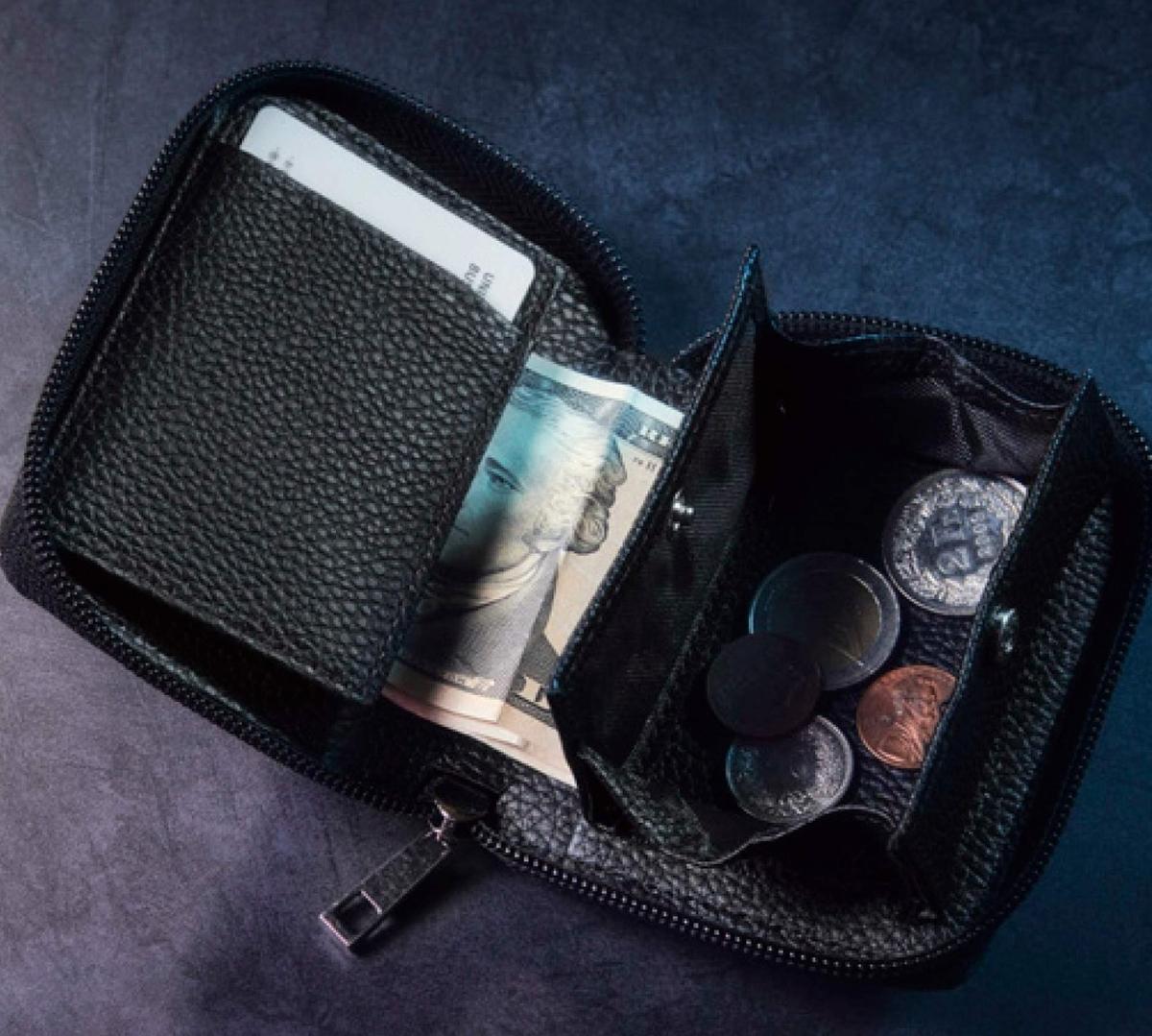 コンパクトレザー財布