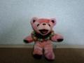 この熊ちゃん、何だか「にゃーにゃー」鳴きそう。
