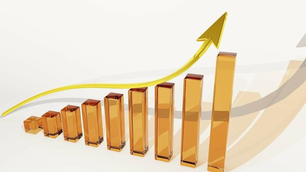 金運上昇グラフ