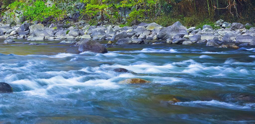 川のながれ
