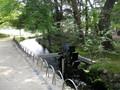 岡山後楽園の水車はまわる